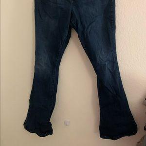GAP Baby Boot Jeans Dark Wash